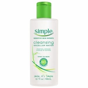 Simple-Micellar Cleansing Water